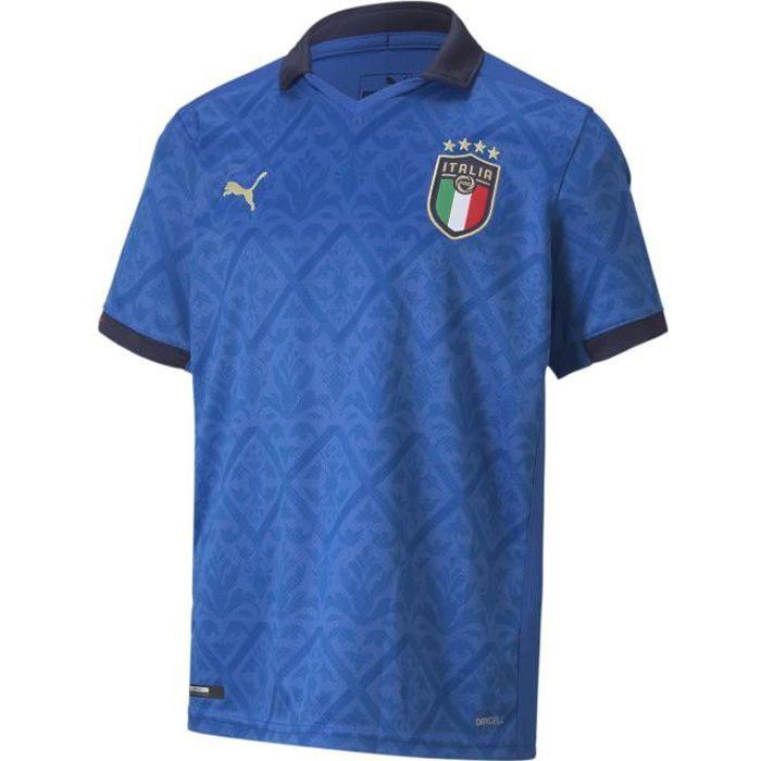 Maillot Puma Italie Domicile bleu enfant
