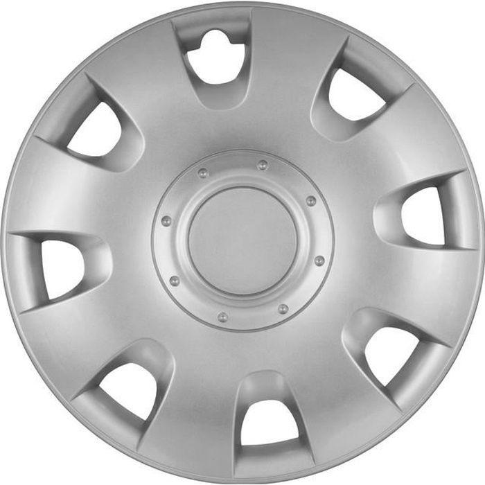 Enjoliveur RADIUS Silver ABS 14'' Polaire RA14-1RAB