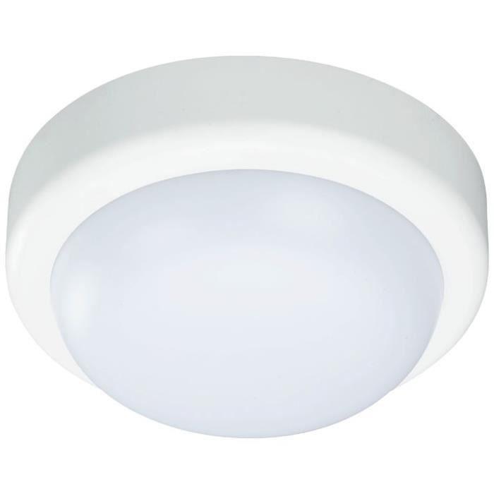 PROLIGHT - Hublot led rond pc 10w 700lm blanc