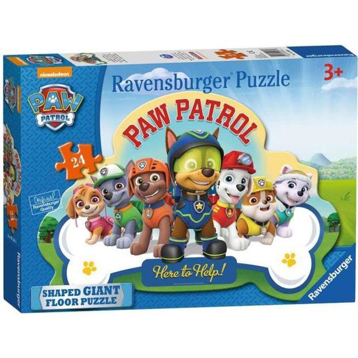 Puzzle géant de sol Pat'Patrouille 24 pièces partir de 3 ans Ravensburger