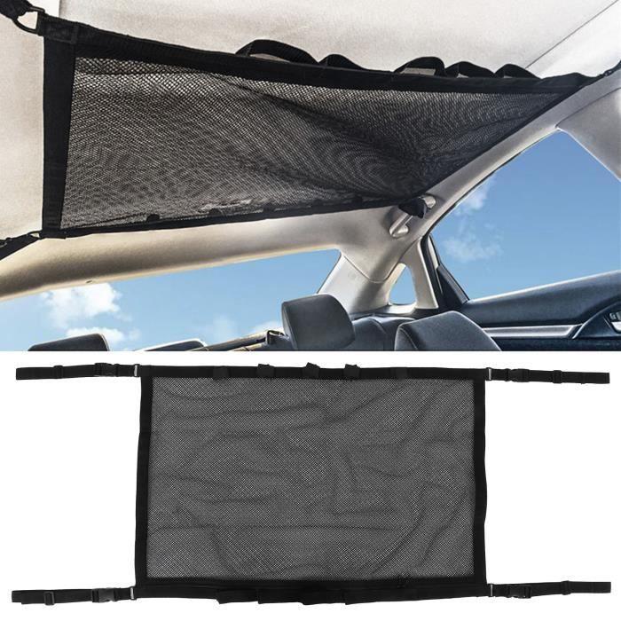 Filet de toit de voiture Sac de rangement de voiture réglable solide polyester durable sûr