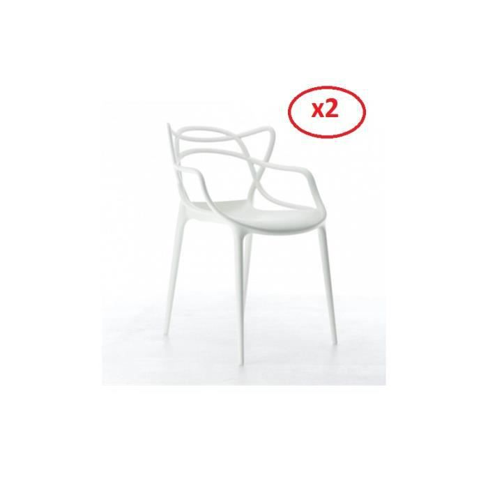 Chaise kartell achat vente chaise kartell pas cher for Ou trouver des chaises