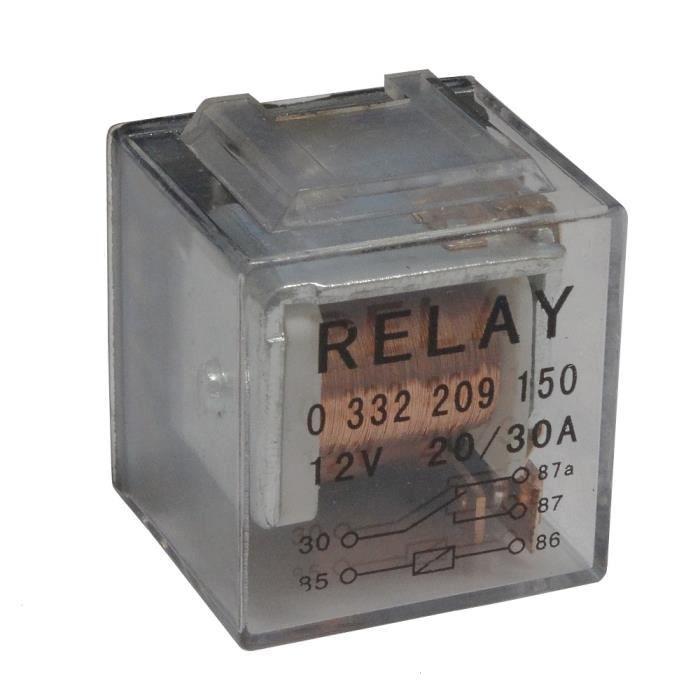 Relais 24V 5 pins broches 30//40A pour camion semi remorque AERZETIX