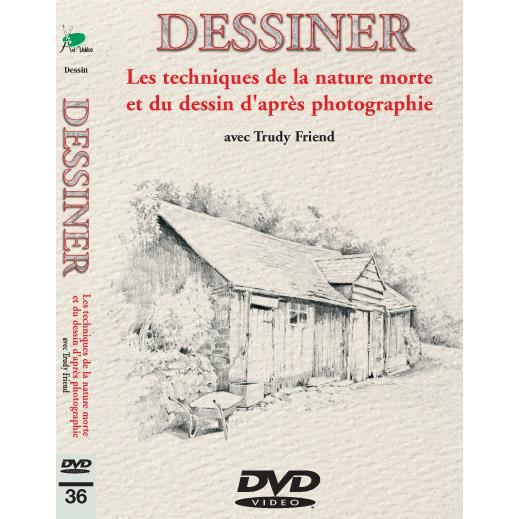 Favori Techniques de la nature morte et dessin d'ap photo en dvd  IT93