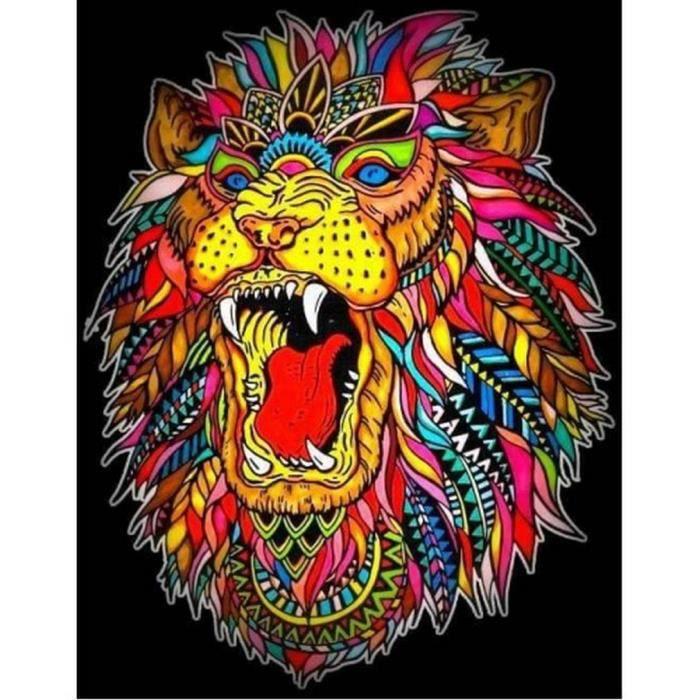 Coloriage Lion 12 Feutres Inclus 21 X 29 7 Cm A Colorier Colorvelvet Achat Vente Feutres Lion 12 Feutres Inclus 21 Cdiscount