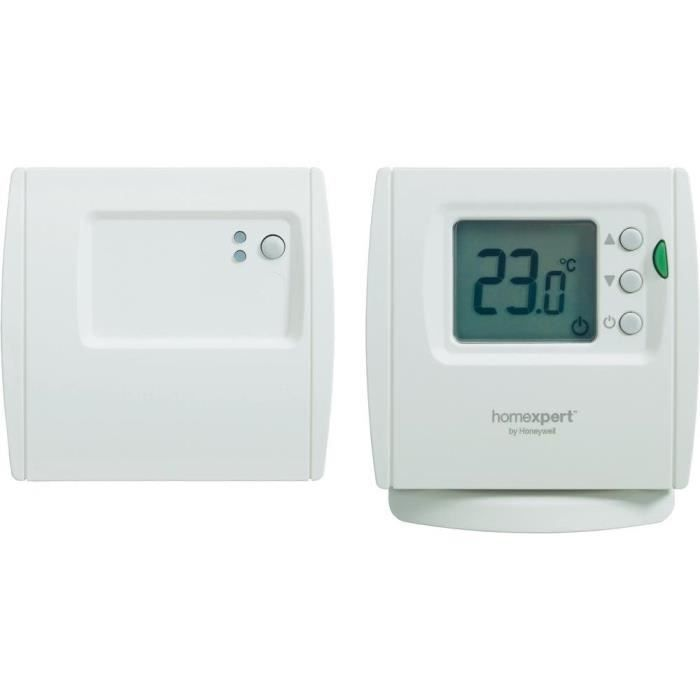 thermostat sans fil homexpert by honeywell thr8 achat vente thermostat d 39 ambiance cdiscount. Black Bedroom Furniture Sets. Home Design Ideas