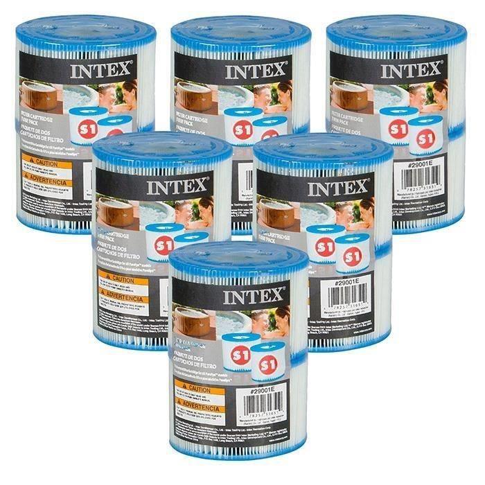 12 Cartouches Pure Spa Intex 6 Lots De 2 Filtres Achat Vente