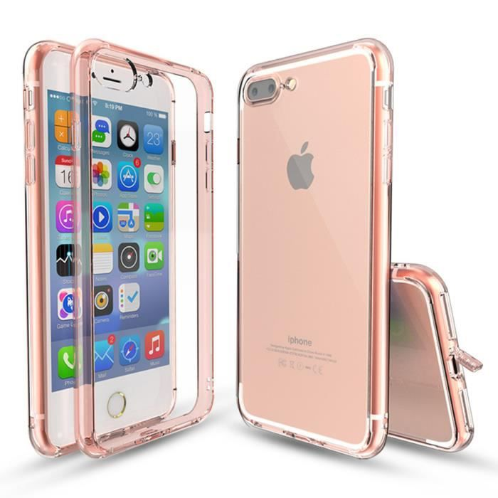coque iphone 7 rose gold hus05938