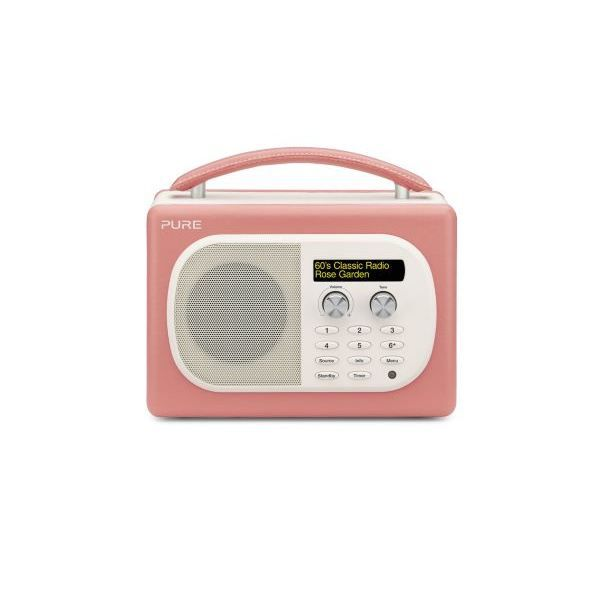 radio pure evoke mio rose radio cd cassette avis et prix pas cher cdiscount. Black Bedroom Furniture Sets. Home Design Ideas