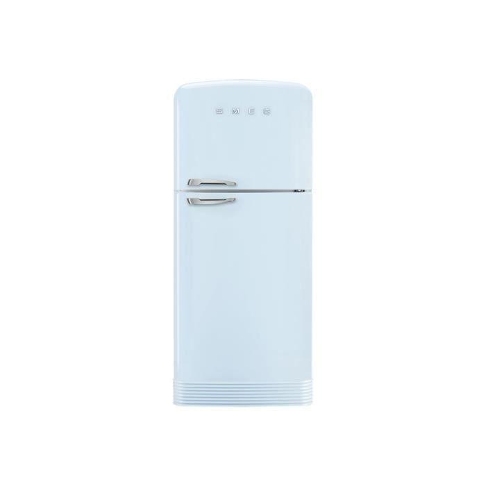 RÉFRIGÉRATEUR CLASSIQUE Smeg '50 FAB50RPB Réfrigérateur-congélateur pose l