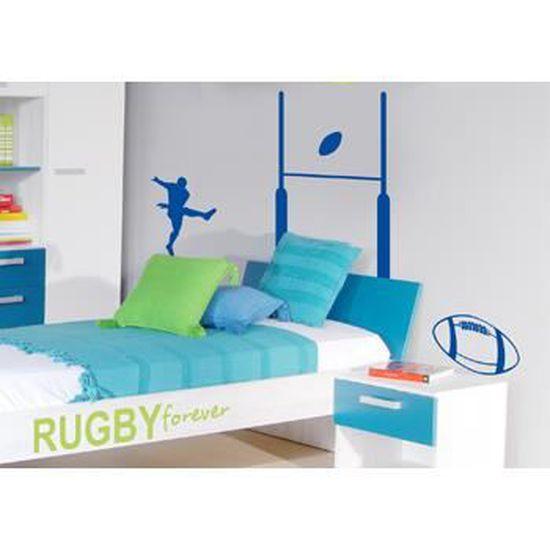 Stickers Rugby En Kit Tir Et But Pour Déco 137 X 90