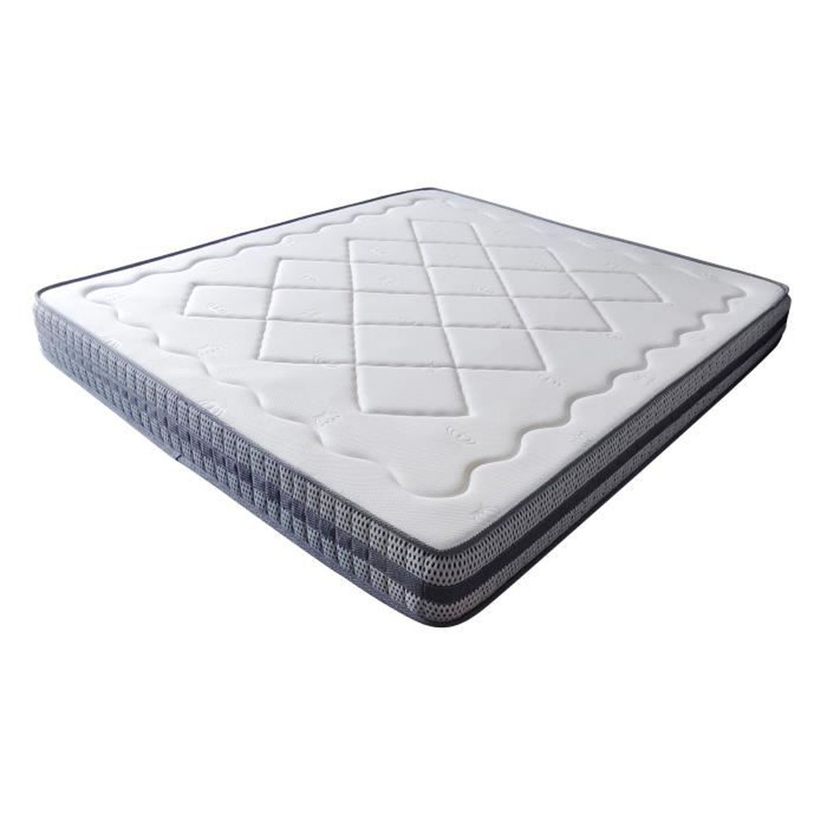 okda matelas m moire de forme 180x200 cm achat vente matelas cdiscount. Black Bedroom Furniture Sets. Home Design Ideas