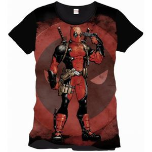 T-SHIRT Tee-Shirt Deadpool Body