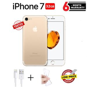SMARTPHONE RECOND. Apple iPhone 7 Or 32Go - Reconditionné