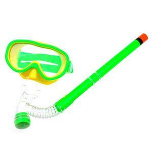 LUNETTES DE VUE Demi-sec avec des lunettes de natation pour enfant
