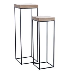 tables gigogne bois et metal achat vente tables gigogne bois et metal pas cher cdiscount. Black Bedroom Furniture Sets. Home Design Ideas
