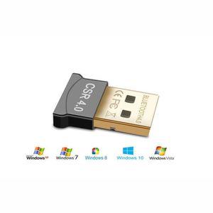 ADAPTATEUR BLUETOOTH Clé  Adaptateur Bluetooth 4.0,  USB  Bluetooth CSR