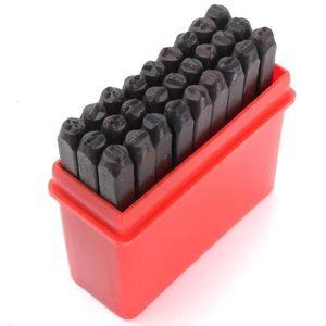 Chiffres à frapper 8 mm de 0 à 9 tampon nombres jeu de frappe qualité pro