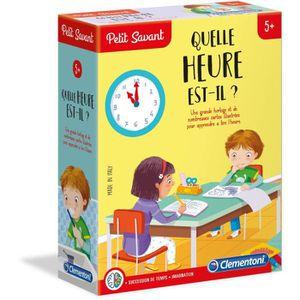 JEU D'APPRENTISSAGE CLEMENTONI Petit Savant - Quelle heure est-il ? -