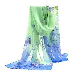 ECHARPE - FOULARD écharpe femme foulard 160x50cm GOGOU 16-FQ063 flor