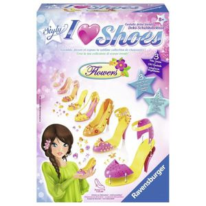 JEU DE MODE - COUTURE - STYLISME RAVENSBURGER SO STYLY I love Shoes Flowers (Atelie
