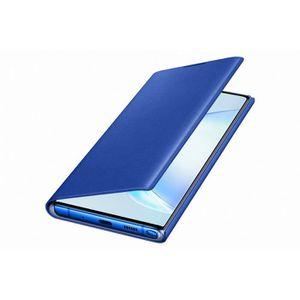 HOUSSE - ÉTUI LED View Cover Bleu Note10+