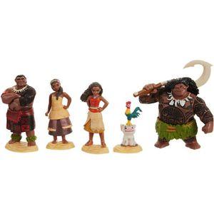 FIGURINE - PERSONNAGE VAIANA Set De 5 Figurines