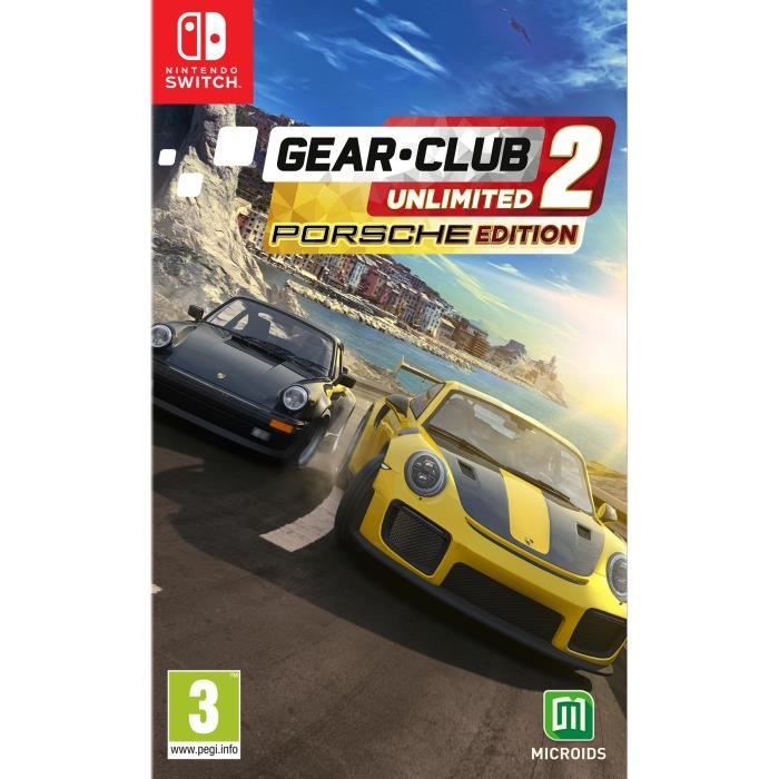 Gear.Club Unlimited 2 Porsche Edition Jeu Switch