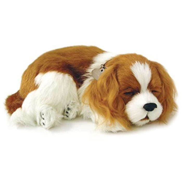 Peluche OR5PX Cavalier King Charles The Breathing original Pet New Huggable Soft Version