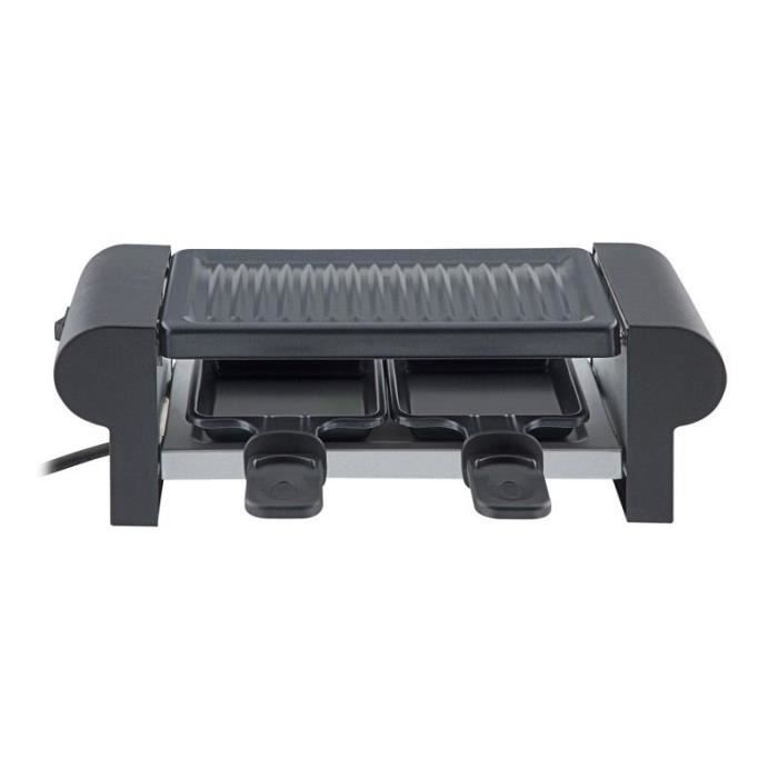 APPAREIL A RACLETTE GRILL DUO BLACK MEGA PROMO