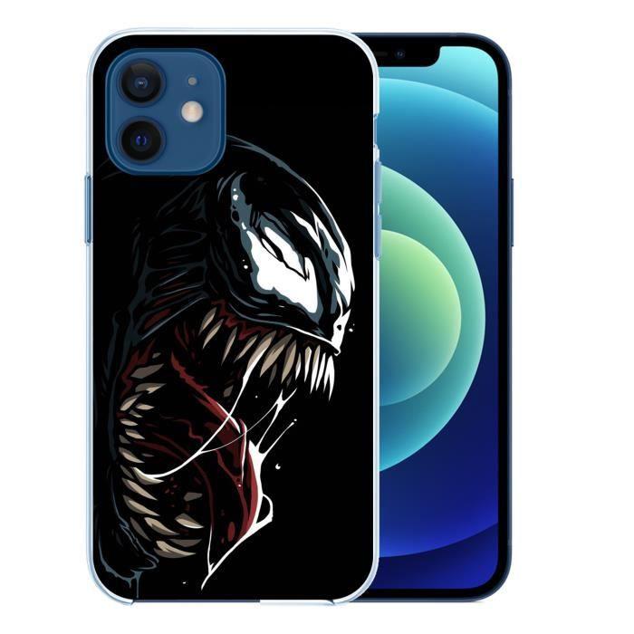 Coque pour iPhone 12 - Venom Comics. Accessoire telephone, protection iPhone