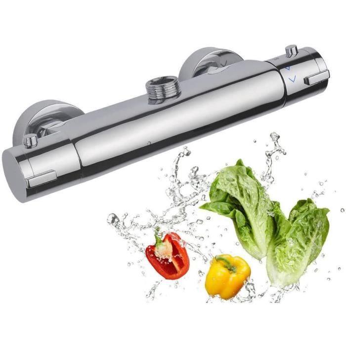 Mitigeur de douche thermostatique de douche design Robinet mitigeur pour douche thermostatique