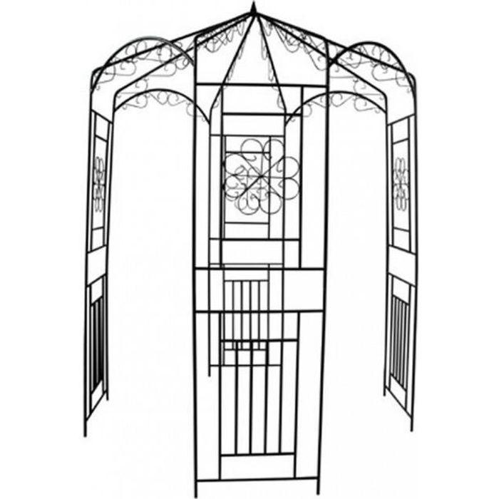 Arches, treillages, tonnelles et pergolas de jardin Gloriette 160 x 250 cm