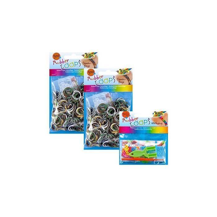 Kit de création de bracelets Folia Juguetes 339617 (OpenBox)-- S15000579
