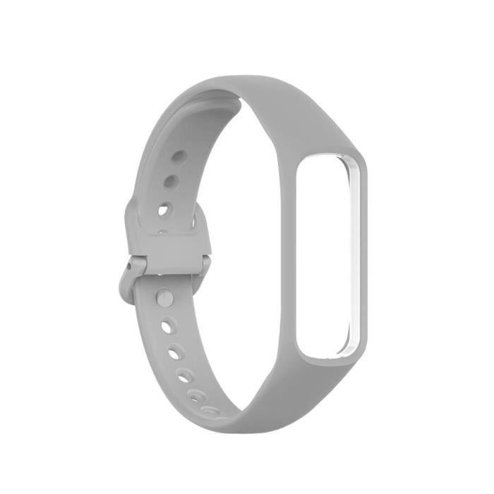 Bracelet de rechange pour Samsung Galaxy Fit 2, en Silicone, pour montre intelligente de Sport Light gray -SZ815
