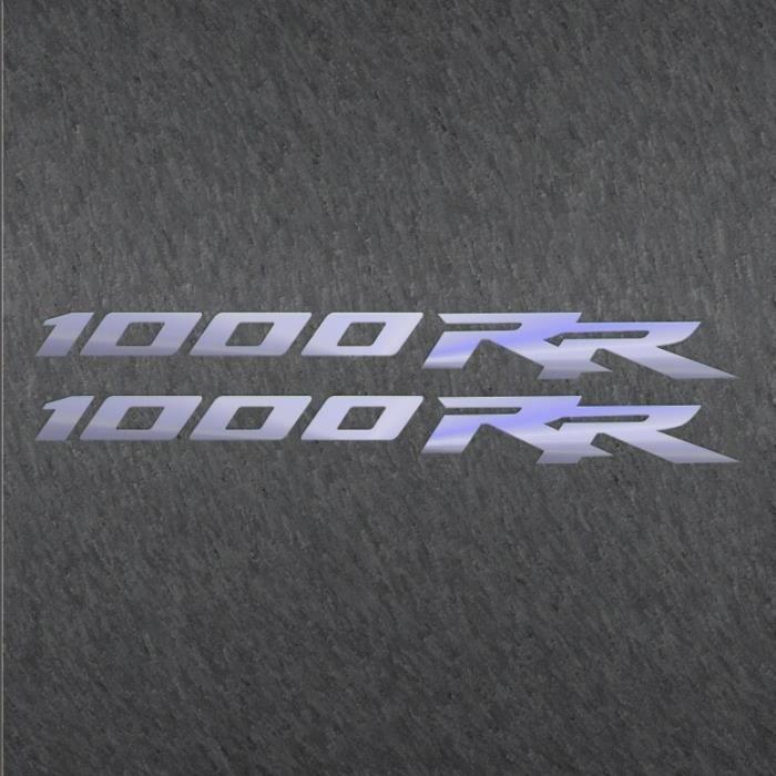Autocollants réfléchissants au Laser en vinyle pour Honda 1000RR, imperméable, décoration de moto et Scooter, roug MULTI -THJR3435