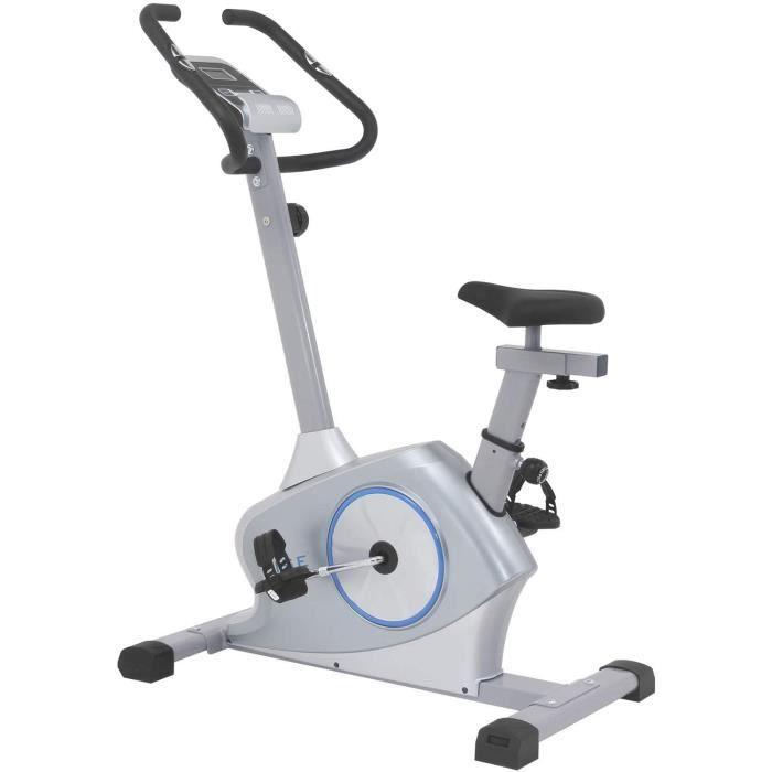 ISE Vélo d'Appartement Ergomètre Cardio,Système de Freinage Magnétique Haute Performance,Masse d'Inertie 12Kg avec Support de Tablet