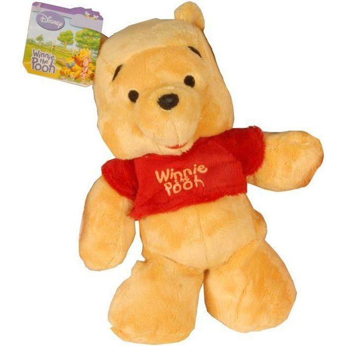 Disney - Winnie L'Ourson - Peluche Winnie 20cm