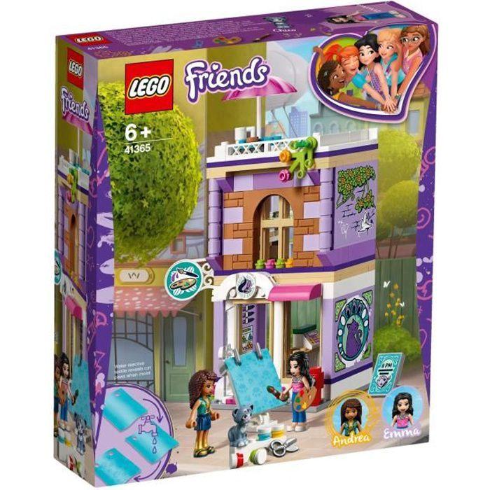 LEGO® Friends 41365 L'atelier d'artiste d'Emma - jeu de construction