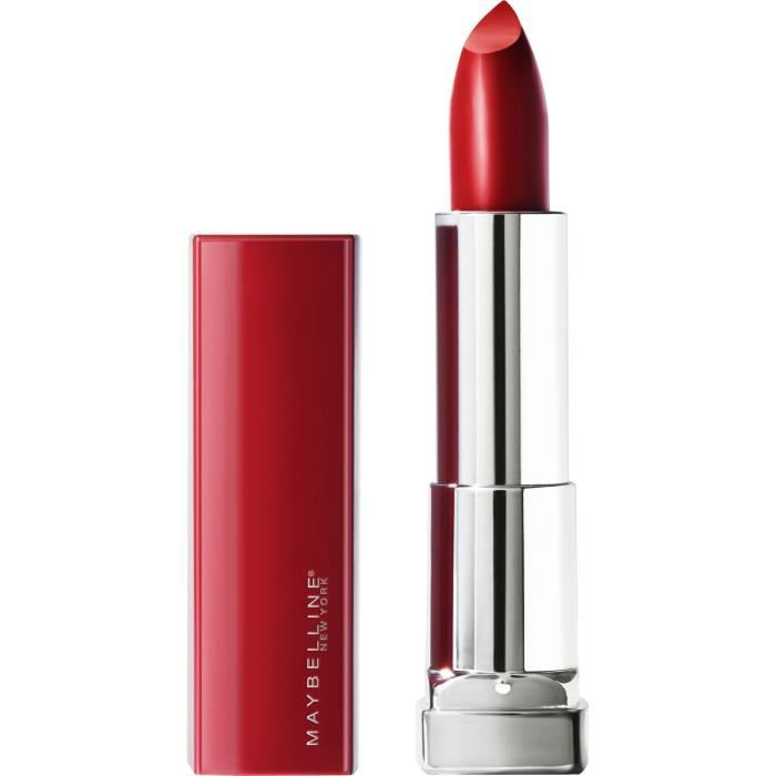 GEMEY MAYBELLINE Rouge à lèvres New York Color Sensation Made For All - 385 Ruby For Me