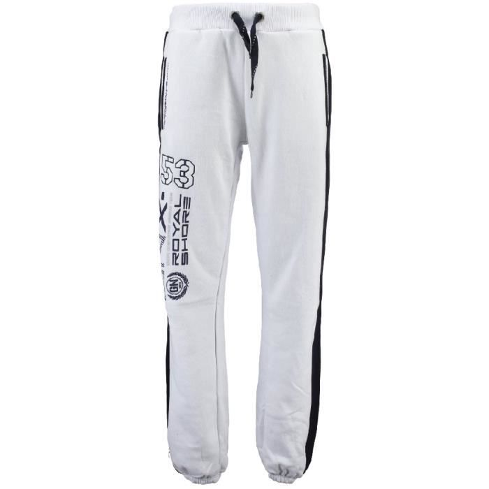 Jogging Homme Geographical Norway Mapping Blanc