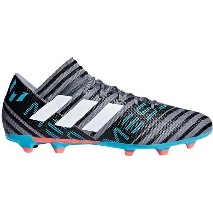 Nemeziz Messi 17.3 FG Football Boots - Adult - Grey/White/Black