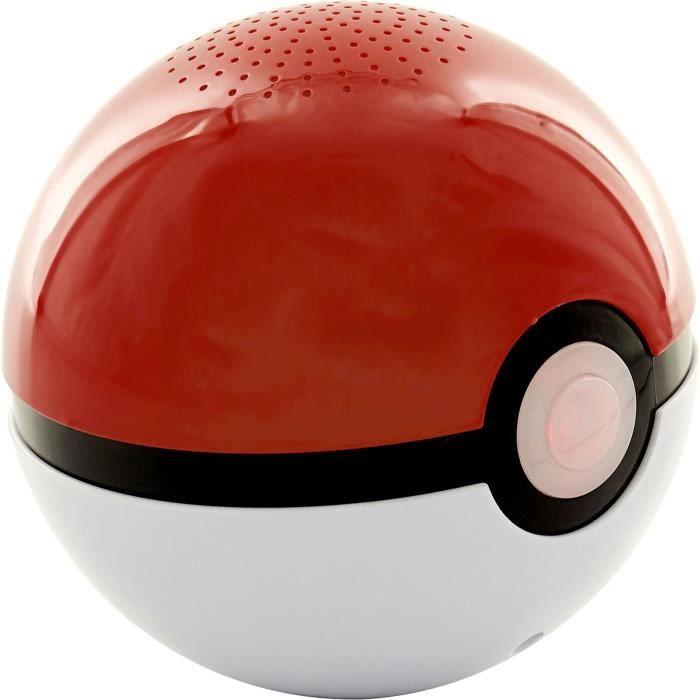 POKEMON Enceinte Bluetooth Pokeball