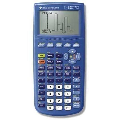 Texas Instruments TI-82. Elément de format: Poche, Type: Calculatrice graphique.