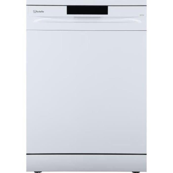 vedette - lave-vaisselle 60cm 13c 47db a++ blanc - vdp137lw