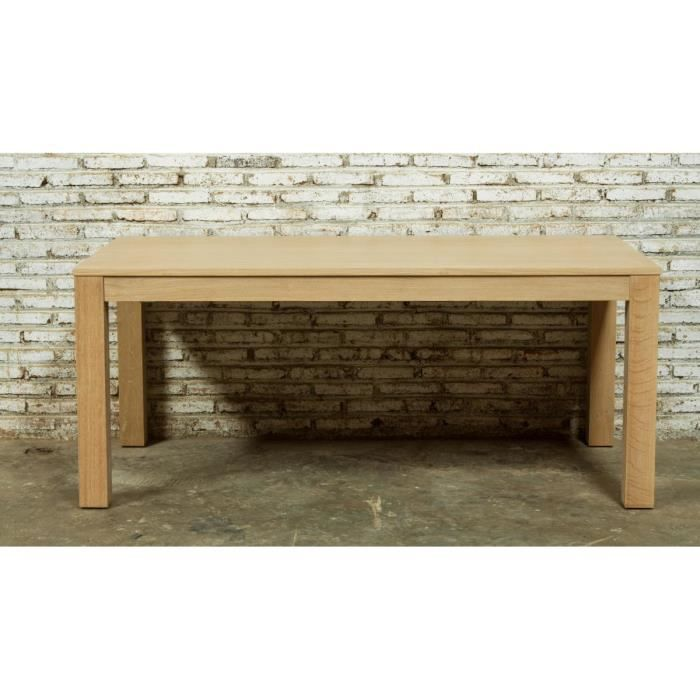 Table extensible en ch ne massif kubico achat vente for Table chene massif extensible