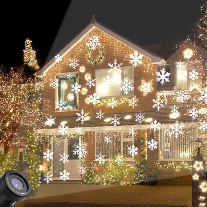 Projection Decoration De Noel