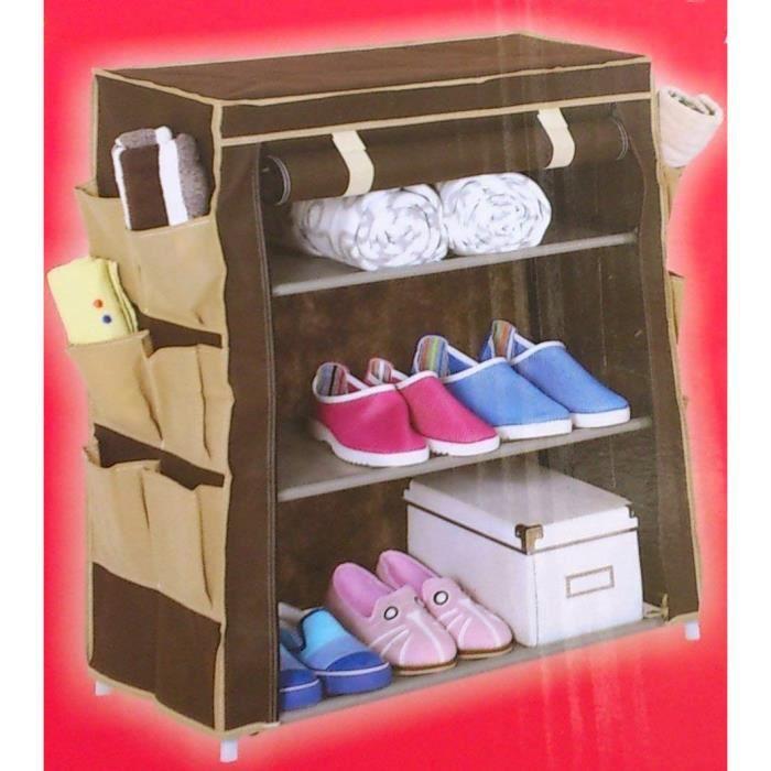ARMOIRE DE CHAMBRE 416902Armoire penderie armoire à chaussures