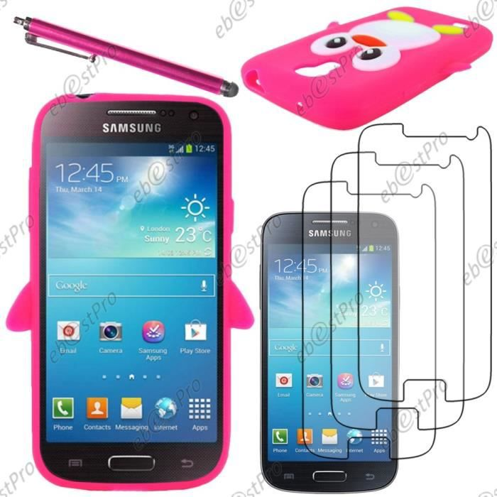coque samsung galaxy s4 mini i 9195 achat vente coque. Black Bedroom Furniture Sets. Home Design Ideas