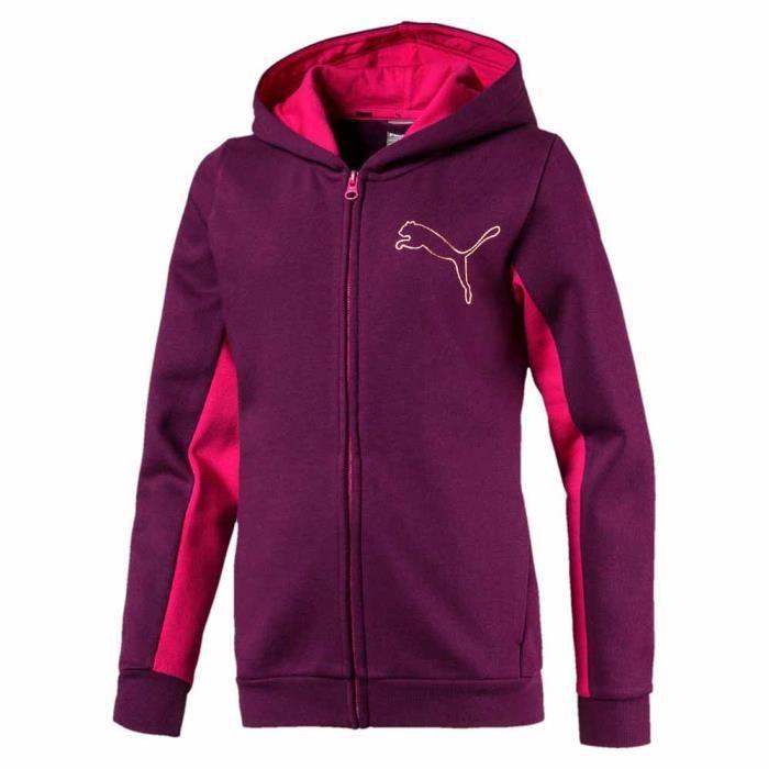 et Style garçon Tricots Puma Full pulls Hoodie Zip Vêtements rdxtQsCh